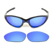 NEW POLARIZED CUSTOM ICE BLUE LENS FOR OAKLEY XX OLD TWENTY SUNGLASSES